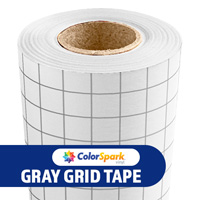 ColorSpark High Tack Application Tape - Grey Grid 12