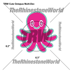 TRW Cute Octopus Multi-Dec Design