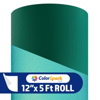 ColorSpark Reflective Adhesive Vinyl - Emerald (5 Foot Roll)