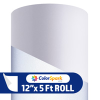 ColorSpark Reflective Adhesive Vinyl - White (5 Foot Roll)