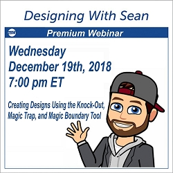 Designing with Sean - December 19, 2018