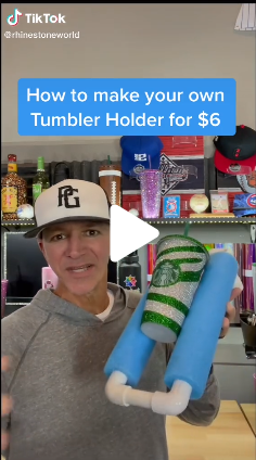 How To Make Your Own Tumbler Cup Holder