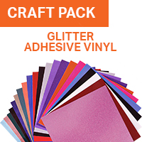 ColorSpark Glitter Adhesive Vinyl Craft Pack