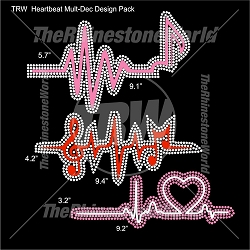 TRW Heartbeat Pack Multi-Dec Designs