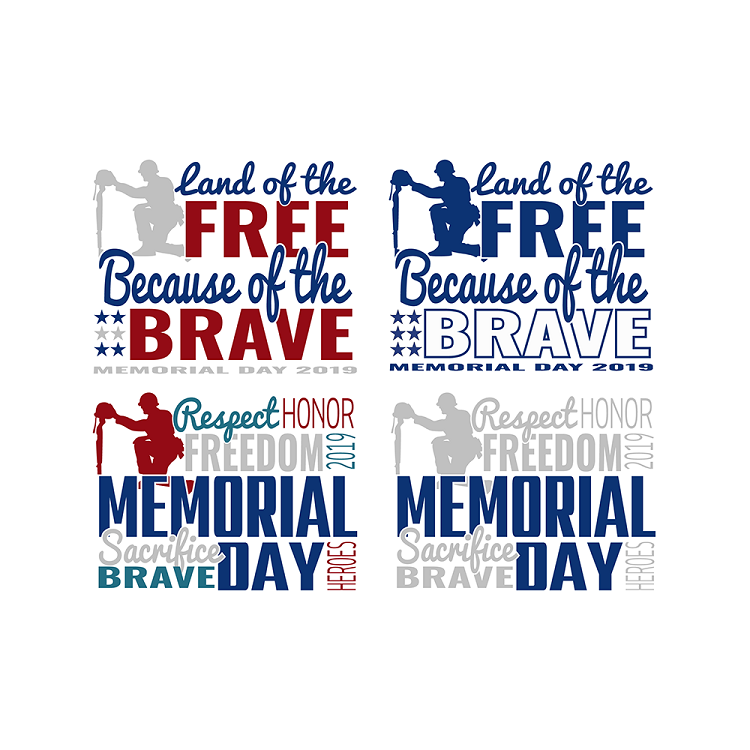 Memorial Day Live Template 2 Pack