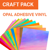 ColorSpark Opal Adhesive Vinyl Craft Pack