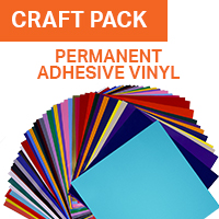 ColorSpark Permanent Adhesive Vinyl Craft Pack