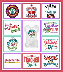 TRW Teacher Live Template Mini Pack