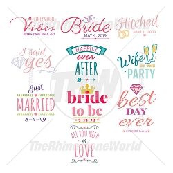 Wedding Live Template Mini Pack