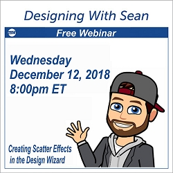 Designing with Sean - December 12, 2018
