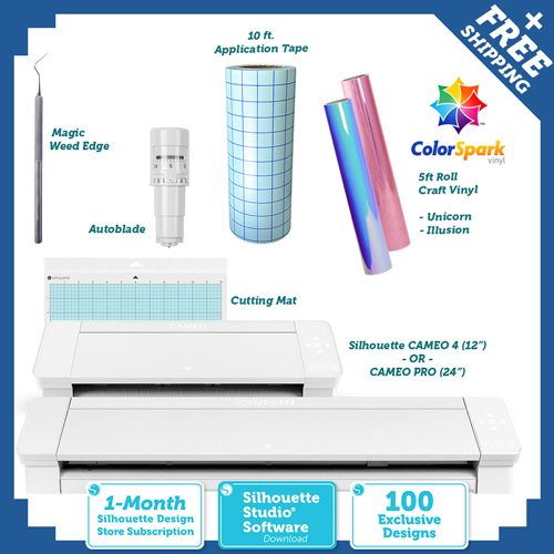 Silhouette Cameo - ColorSpark Crafter Starter Kit