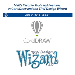6/21/2018 - Matt's Favorite Tools and Features in CorelDraw