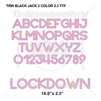 TRW Black Jack 2 Color 2.3