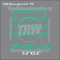 TRW Blue Light A 0.8