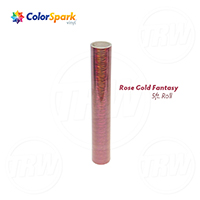 ColorSpark™ Holographic Craft Vinyl - Rose Gold Fantasy (5 Foot Roll)
