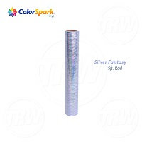 ColorSpark™ Holographic Craft Vinyl - Silver Fantasy (5 Foot Roll)