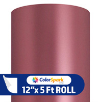 ColorSpark Metallic Adhesive Vinyl - Rose Gold Matte (5 Foot Roll)