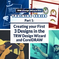 TRW Design Wizard Training Series | Part 1: Create Your First 3 Designs | Monday March 23rd 2020 1PM - 3PM ET.
