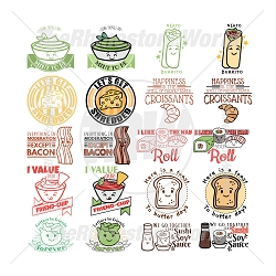 Cute Foods Live Template Mini Pack 4