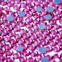 Diamond Cut Hot-Fix Pink SS10 Rhinestones 10-Gross