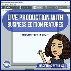 Designing with Lisa - Sept. 27th 2018