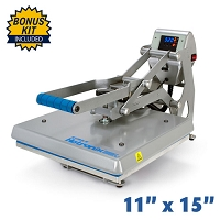 Hotronix Auto Clam Heat Press - 11x15 Bundle