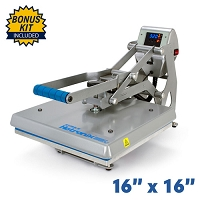 Hotronix Auto Clam Heat Press - 16x16 Bundle