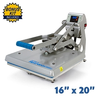 Hotronix Auto Clam Heat Press - 16x20 Bundle