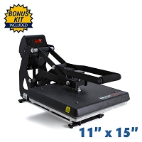 The Maxx Clam Heat Press - 11x15 Bundle