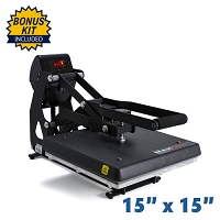 The Maxx Clam Heat Press - 15x15 Bundle