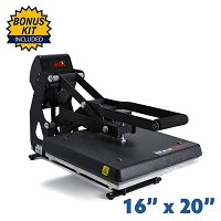 The Maxx Clam Heat Press - 16x20 Bundle