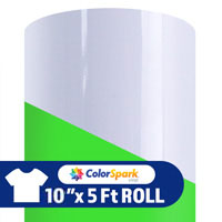 ColorSpark Glow Heat Transfer Vinyl - Glow in the Dark