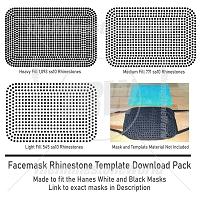 TRW Rhinestone Mask Fill Pack 1