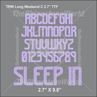 TRW Long Weekend C 2.7 Rhinestone TTF-Download