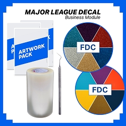 Major League Decal Business Module