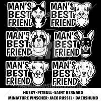 TRW Man's Best Friend Mini Pack 4