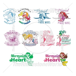Mermaid Live Template Mini Pack 2