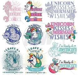 Mermicorn Live Templates Mini Pack