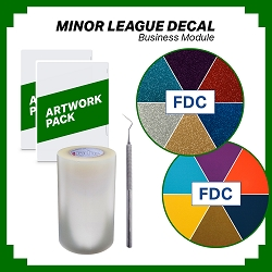 Minor League Decal Business Module