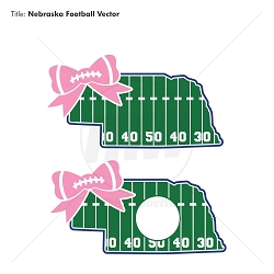 TRW Nebraska Football State Vector - Download