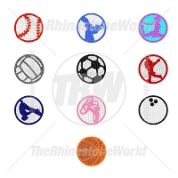 Rhinestone Decal LT (Mini Pack 1 of 5)