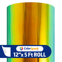 ColorSpark Opal Adhesive Vinyl - Paradise (5 Foot Roll)