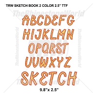 TRW Sketch Book 2 Color 2.5