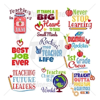 Teacher and School Live Template Mini Pack 1