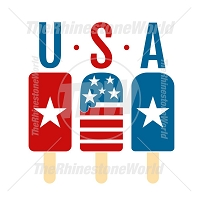 USA Popsicle Vector Design