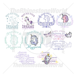 Unicorn Live Template Mini Pack 1