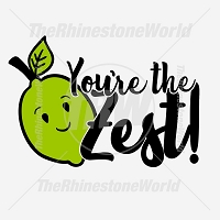 You're The Zest! Free Vector Design