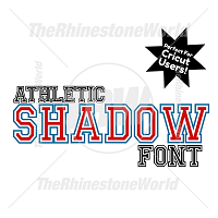 Athletic Shadow Font
