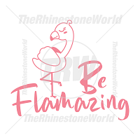 Be Flamazing Vector Design