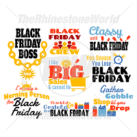 Black Friday ALL-STAR SPECIAL Live Template SVG Mini Pack 2